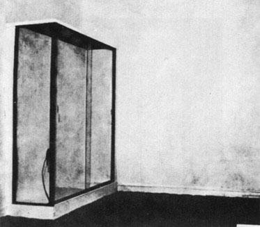 Yves Klein, Le Vide, Iris Clert Galerie, Paris 1958.